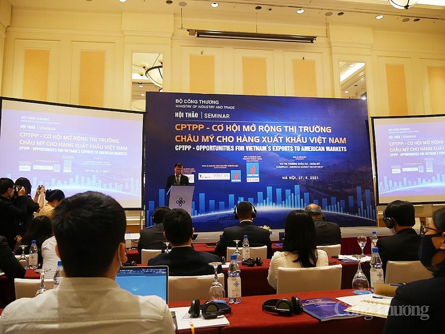 Cơ hội mở rộng thị trường châu Mỹ cho hàng xuất khẩu Việt Nam nhờ hiệp định CPTPP