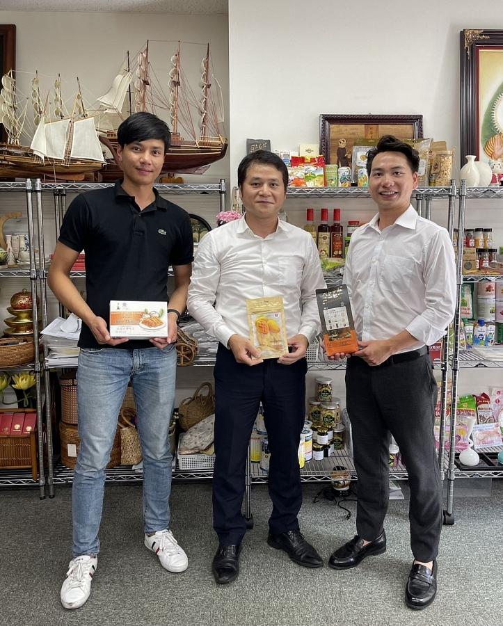 Gian hàng Việt Nam tại Triển lãm quốc tế thực phẩm – đồ uống FOODEX 2021