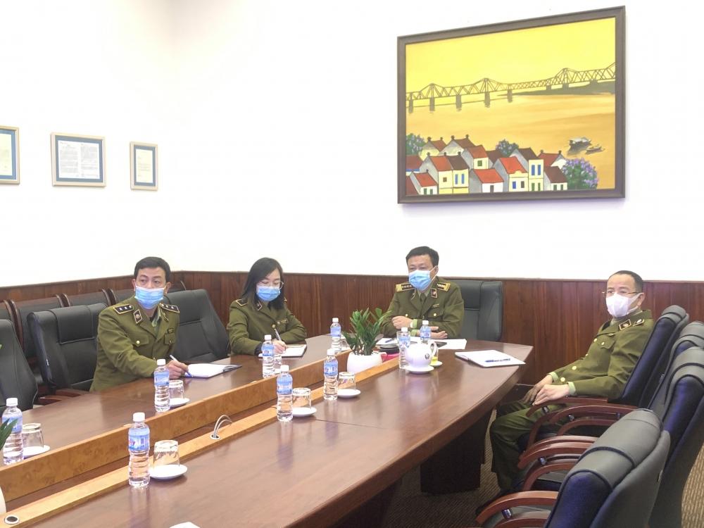 Phó Tổng Cục trưởng Hoàng Ánh Dương tổ chức họp trực tuyến triển khai công tác chuyên môn và phòng chống dịch