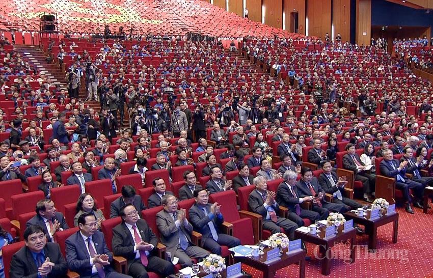 Các đồng chí lãnh đạo Đảng, Nhà nước dự lễ kỷ niệm