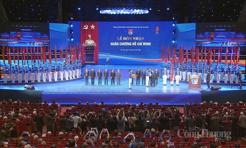 Đoàn TNCS Hồ Chí Minh đón nhận Huân chương Hồ Chí Minh