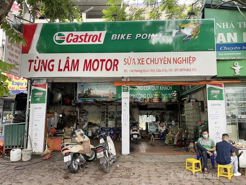 """Hà Nội: Cơ sở kinh doanh mở cửa """"cầm chừng"""" sau lệnh nới lỏng"""