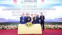 Herbalife: Ký kết Tài trợ dinh dưỡng cho đoàn thể thao Việt Nam