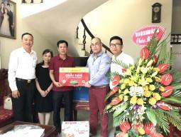 """Bia Hà Nội trao thưởng cho 20 khách hàng trong chương trình """"Chai lớn - giải to"""""""