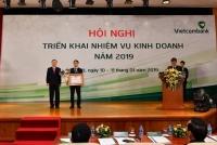 vietcombank dat muc tieu tang loi nhuan len 20000 ty dong nam 2019