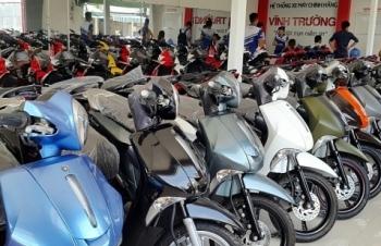tieu thu xe may tang 35 trong nam 2018