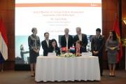 Tập đoàn T&T và Boskalis - Hà Lan hợp tác trong lĩnh vực cảng biển