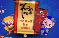 li xi online thoi 40 tren app ngan hang mbbank