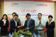 PTI và MobiFone hợp tác ra mắt sản phẩm dịch vụ nội dung- bảo hiểm