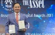 VIB nhận hai giải thưởng quốc tế về ngân hàng số
