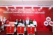 Quỹ Toyota Việt Nam trao tặng thiết bị y tế tại tỉnh Cao Bằng