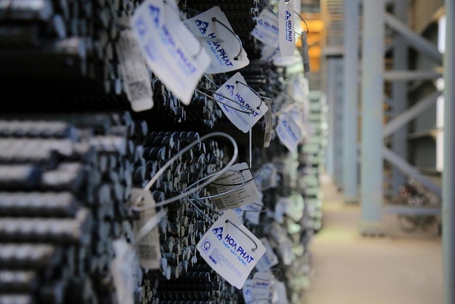 Sản lượng bán hàng thép Hòa Phát đạt 439.000 tấn trong tháng 2