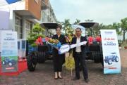 Máy kéo thương hiệu THACO xuất xưởng phục vụ sản xuất nông nghiệp