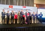 Vietcombank hợp tác với Liên đoàn doanh nghiệp Singapore