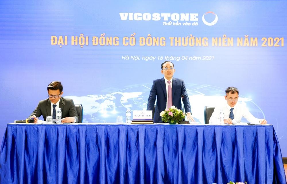 Vicostone trả cổ tức 40%, đặt kế hoạch doanh thu 2021 tăng 20%