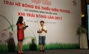 Toyota Việt Nam khởi động trại hè bóng đá 2017