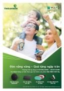 Vietcombank tri ân khách hàng mua mới sản phẩm bảo hiểm tích lũy