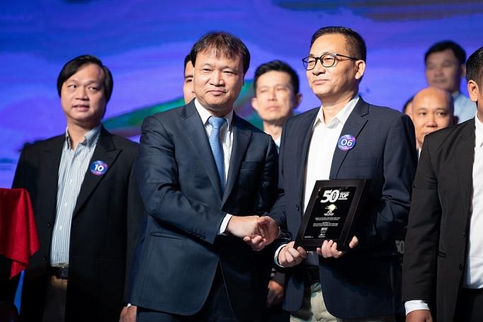 hoa phat duoc vinh danh trong top 50 doanh nghiep hieu qua nhat 8 nam lien tiep
