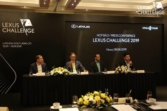 lexus challenge 2019 gia i golf da ng ca p cho golfer chuyen nghie p