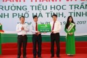 Vietcombank khánh thành và bàn giao nhiều trường học mới