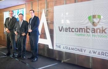 vietcombank nhan 3 giai thuong cua asiamoney
