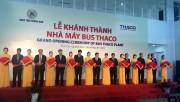 Trường Hải khánh thành nhà máy Bus công suất 20.000 xe/năm