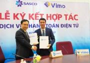 VIMO hợp tác cùng SASCO triển khai thanh toán điện tử cho khách du lịch