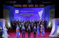 vicostone duoc vinh danh thuong hieu quoc gia 2018