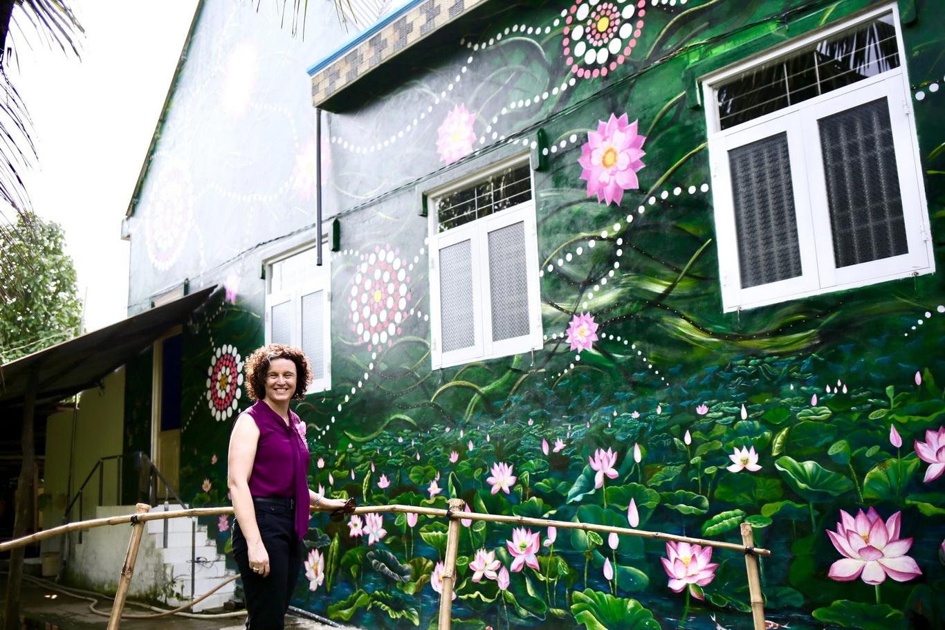 Khánh thành làng bích họa Australia - Việt Nam