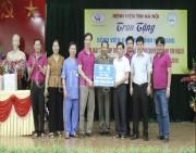 Trao tặng máy tạo nhịp tim tạm thời cho Bệnh viện đa khoa tỉnh Hà Giang