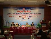 Triển lãm Quốc tế VIETBUILD Hà Nội 2017 thu hút 450 doanh nghiệp tham gia