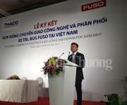 Thaco sẽ phân phối và sản xuất xe tải, xe bus Fuso tại Việt Nam
