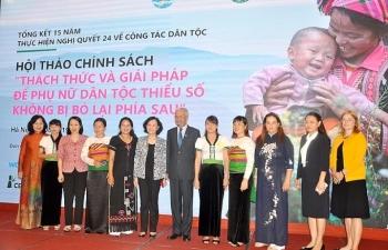 xoa rao can chinh sach cho phu nu dtts