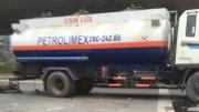 Xe bồn BKS 29C-242.65 nhái thương hiệu của Petrolimex