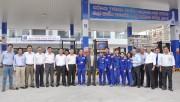Chủ tịch Petrolimex Bùi Ngọc Bảo thăm, động viên CBCNV-NLĐ CHXD số 11 Petrolimex Sài Gòn
