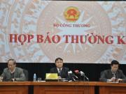 Bộ Công Thương họp báo thường kỳ tháng 1/2015