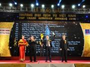 Petrolimex Aviation vinh dự nhận Giải thưởng Thương mại dịch vụ Việt Nam 2016