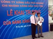 Chi nhánh Xăng dầu Phú Yên: Thêm 3 cửa hàng đi vào hoạt động