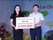 Petrolimex Lai Châu hỗ trợ trẻ em khó khăn