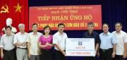 Petrolimex hỗ trợ Lào Cai khắc phục thiệt hại do thiên tai