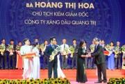 Chủ tịch kiêm Giám đốc Petrolimex Quảng Trị nhận Cúp Thánh Gióng