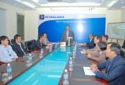 Tổng giám đốc Petrolimex Trần Văn Thịnh thăm và làm việc tại Petrolimex Thái Bình