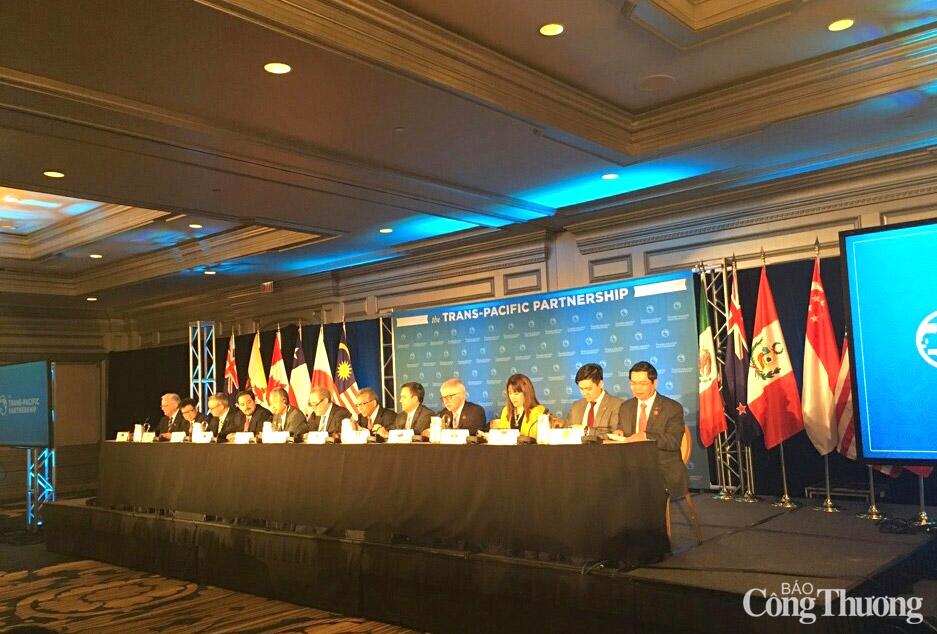 Chính thức hoàn tất đàm phán hiệp định lịch sử TPP