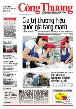 Báo Công Thương - số 96 ra ngày 12/8/2015