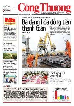Báo Công Thương - số 101 ra ngày 24/8/2015