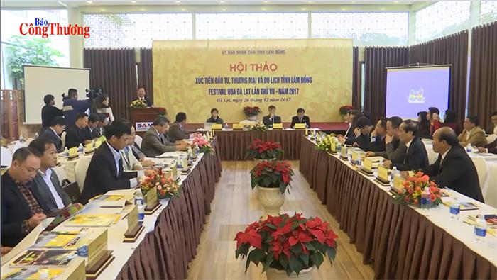 Lâm Đồng xúc tiền đầu tư, thương mại và du lịch