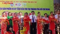 Sản phẩm OCOP tỉnh Bến Tre được giới thiệu lần đầu tiên tại TP. Hồ Chí Minh