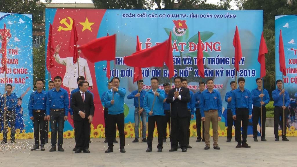 Đoàn Khối các cơ quan Trung ương tưng bừng ngày ra quân tháng Thanh niên