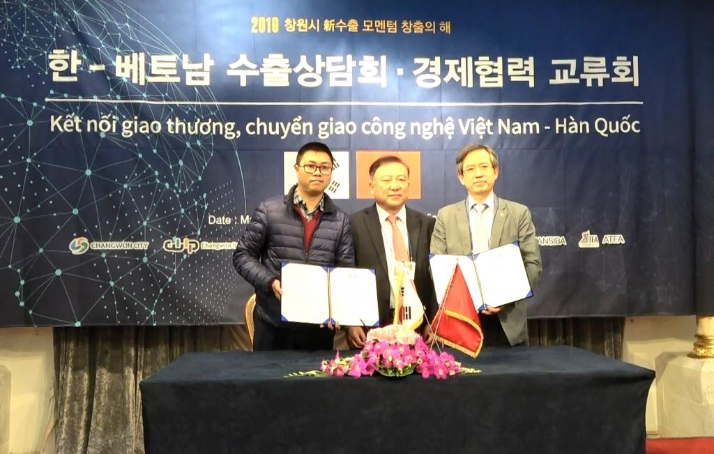 Doanh nghiệp Việt Nam - Hàn Quốc giao thương chuyển giao công nghệ