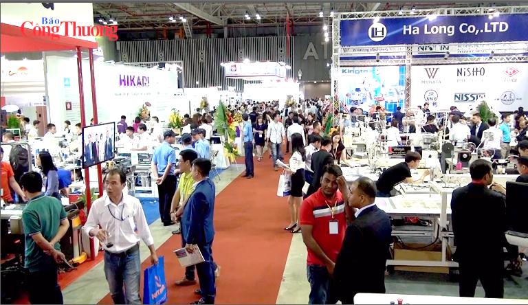 Gần 1.200 doanh nghiệp tham gia Triển lãm quốc tế ngành công nghiệp dệt may